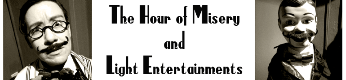 Hour of Misery Comedy Radio Show